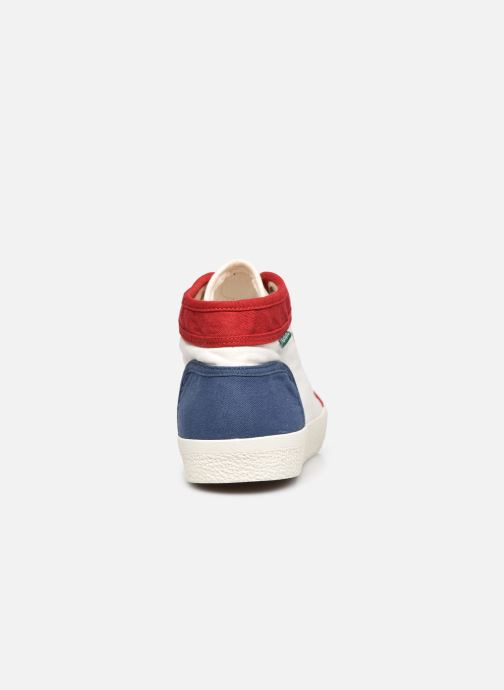Sneakers Kickers ARVEILER Bianco immagine destra