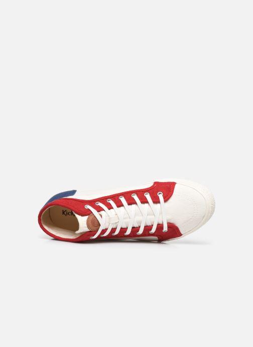 Sneakers Kickers ARVEILER Bianco immagine sinistra