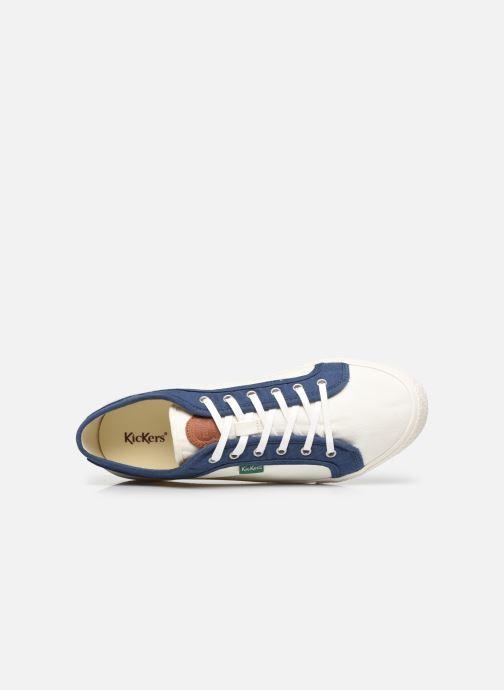 Sneakers Kickers ARVEIL Bianco immagine sinistra