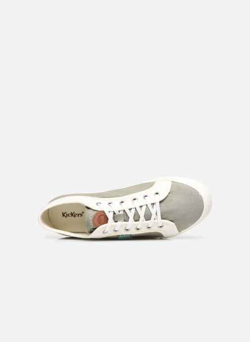 Sneakers Kickers ARVEIL Verde immagine sinistra