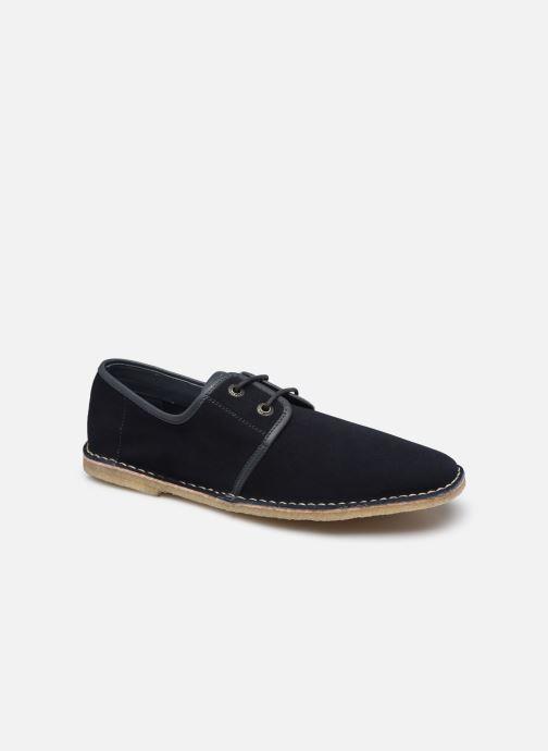 Chaussures à lacets Kickers NAKSOS Bleu vue détail/paire