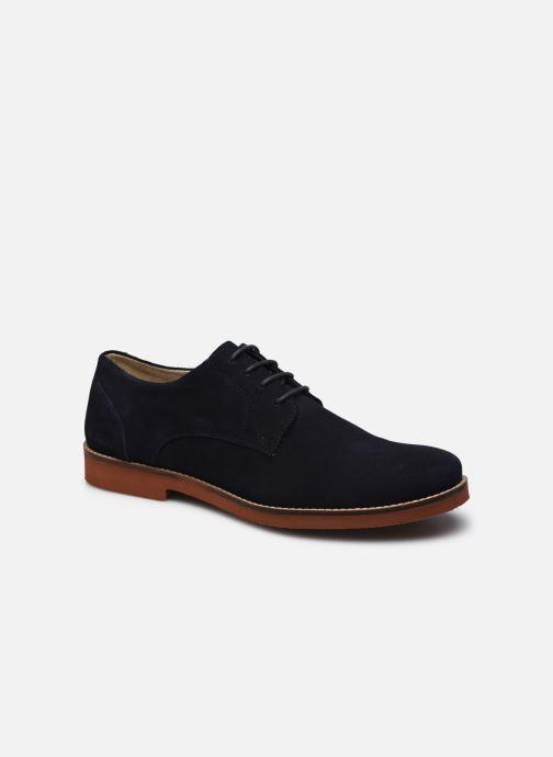 Chaussures à lacets Kickers MANDAM Bleu vue détail/paire