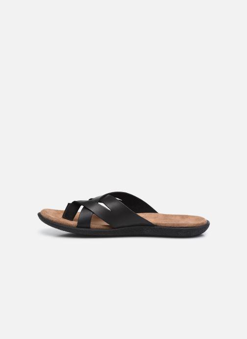 Sandalen Kickers PEPLONN schwarz ansicht von vorne