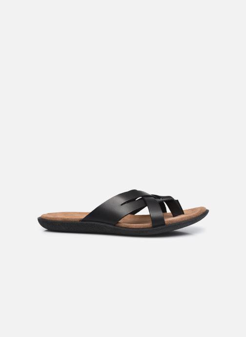 Sandalen Kickers PEPLONN schwarz ansicht von hinten