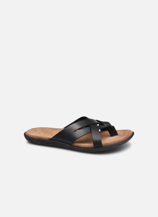 Sandales et nu-pieds Kickers PEPLONN Noir vue détail/paire