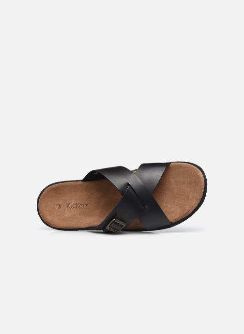 Sandali e scarpe aperte Kickers PEPLONIUS Nero immagine sinistra