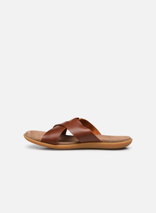 Sandalen Kickers PEPLONIUS braun ansicht von vorne