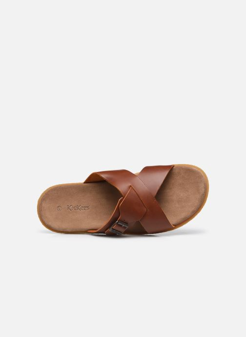 Sandali e scarpe aperte Kickers PEPLONIUS Marrone immagine sinistra