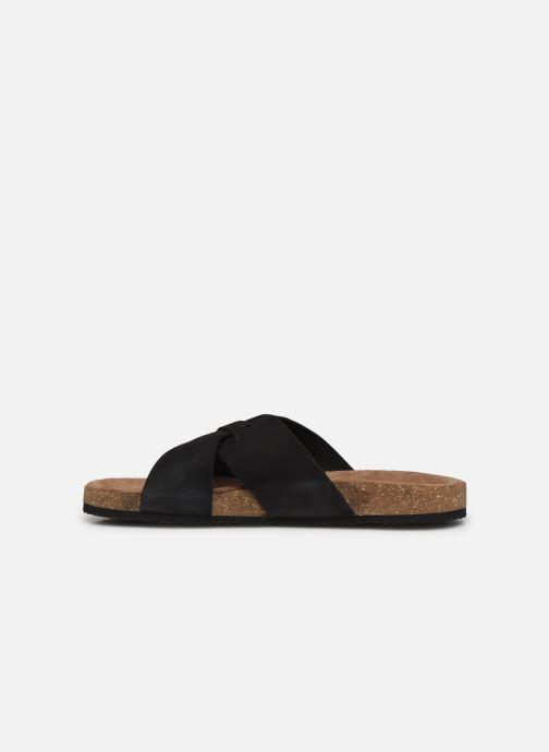 Sandalen Kickers ODIARIS schwarz ansicht von vorne