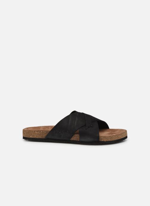Sandalen Kickers ODIARIS schwarz ansicht von hinten