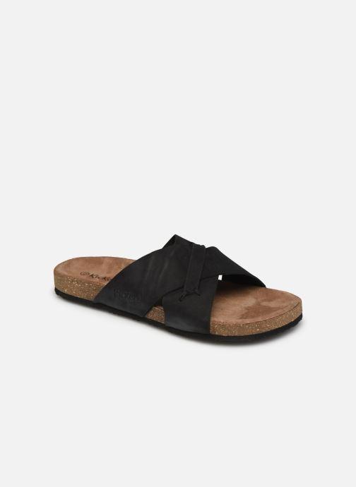 Sandales et nu-pieds Kickers ODIARIS Noir vue détail/paire