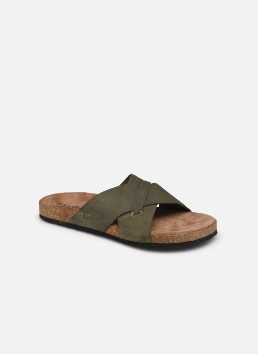 Sandalen Kickers ODIARIS grün detaillierte ansicht/modell