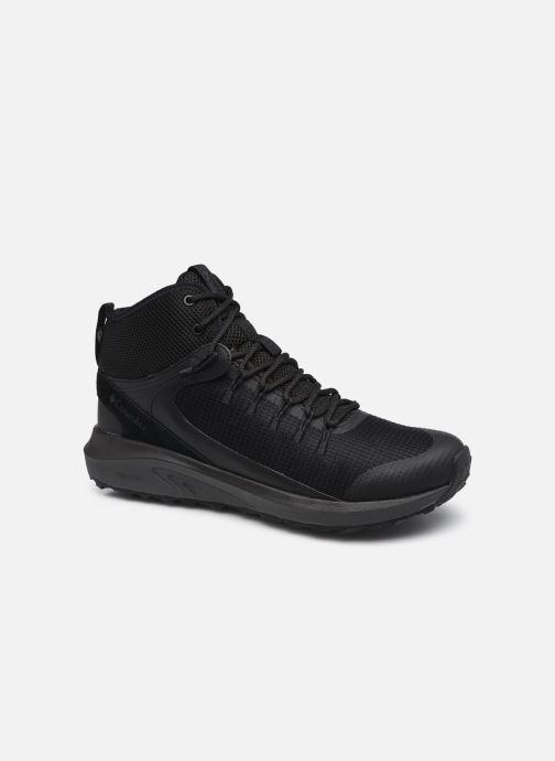 Chaussures de sport Columbia Trailstorm Mid Waterproof M Noir vue détail/paire
