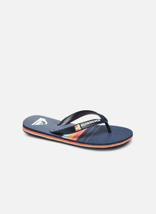Slippers Quiksilver Molokai More Core Youth Blauw detail