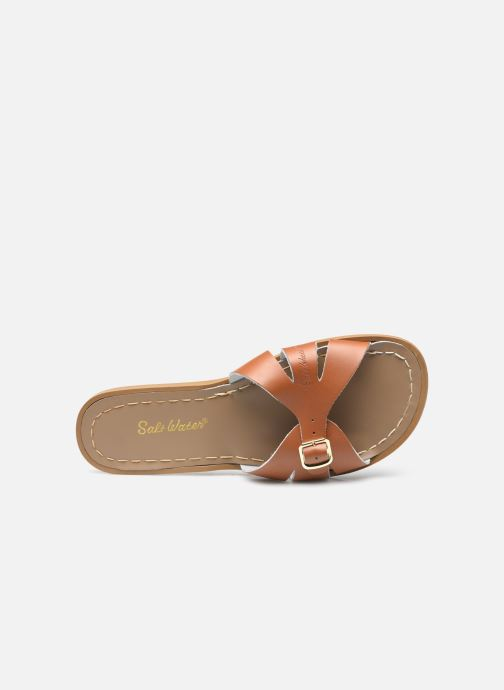 Clogs & Pantoletten Salt-Water SW C SLIDES braun ansicht von links