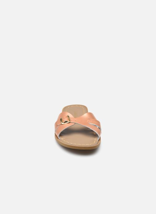 Clogs & Pantoletten Salt-Water SW C SLIDES gold/bronze schuhe getragen