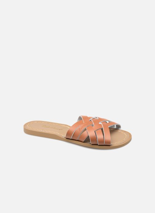Clogs & Pantoletten Salt-Water RETRO SLIDE braun detaillierte ansicht/modell