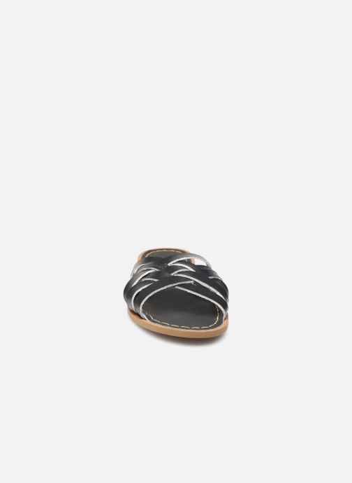 Clogs & Pantoletten Salt-Water RETRO SLIDE schwarz schuhe getragen