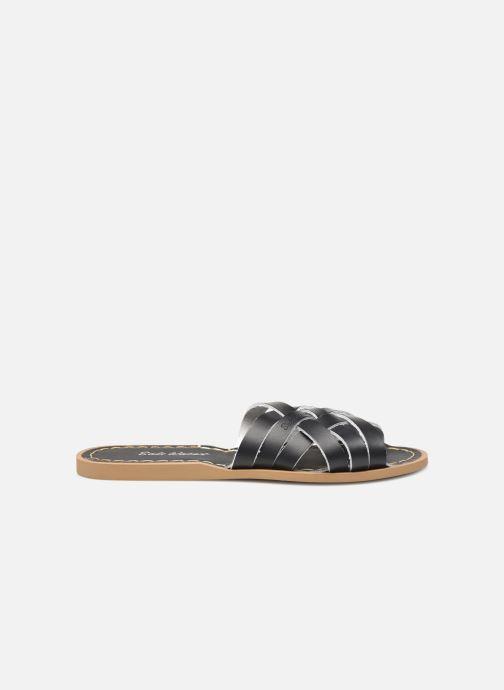 Clogs & Pantoletten Salt-Water RETRO SLIDE schwarz ansicht von hinten