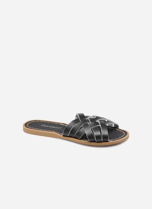 Clogs & Pantoletten Salt-Water RETRO SLIDE schwarz detaillierte ansicht/modell
