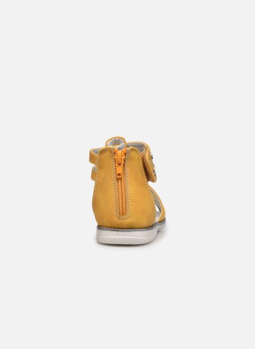Sandalen I Love Shoes SUTORY gelb ansicht von rechts