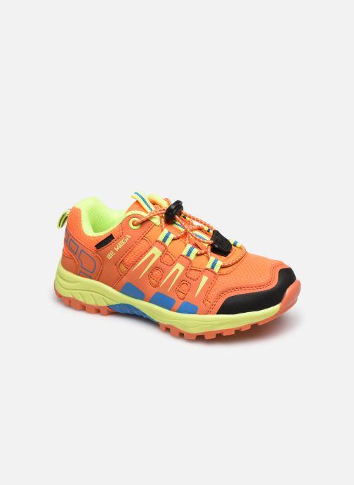 Baskets I Love Shoes START Orange vue détail/paire