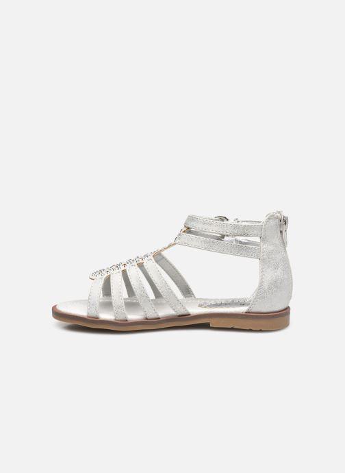 Sandalen I Love Shoes STOSS weiß ansicht von vorne
