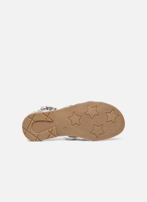 Sandalen I Love Shoes STOSS weiß ansicht von oben