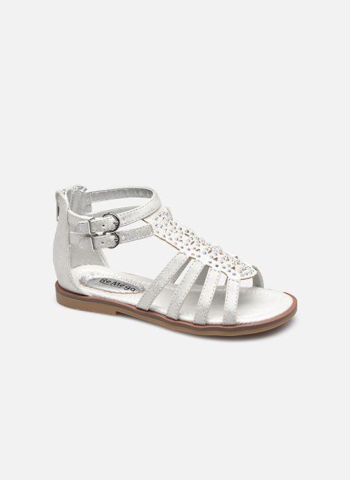 Sandales et nu-pieds I Love Shoes STOSS Blanc vue détail/paire