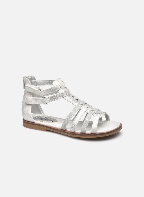 Sandales et nu-pieds I Love Shoes STELLO Blanc vue détail/paire