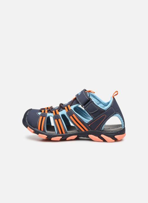 Sandali e scarpe aperte I Love Shoes SUFAM Azzurro immagine frontale