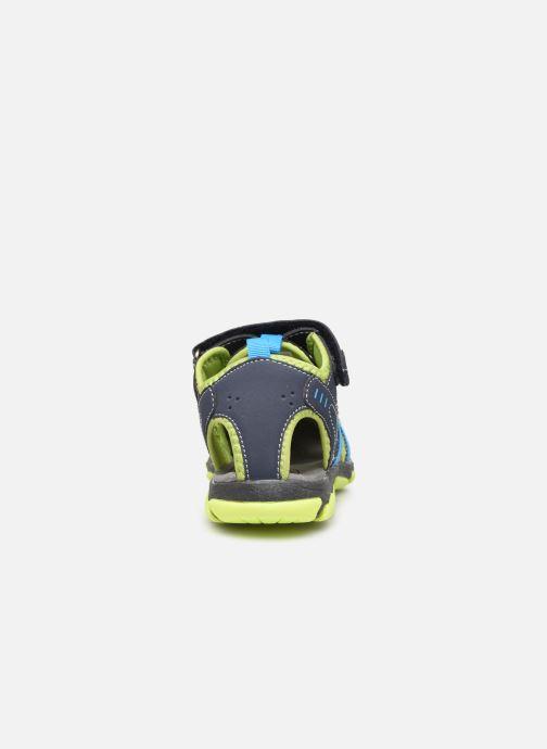 Sandalen I Love Shoes SUFAM blau ansicht von rechts