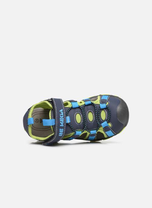 Sandalen I Love Shoes SUFAM blau ansicht von links