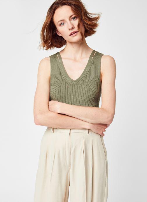 Abbigliamento OBJECT Objrosalia Knit Tank Verde vedi dettaglio/paio