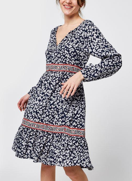 Vêtements Stella Forest ROBE COURTE LELLA Bleu vue détail/paire