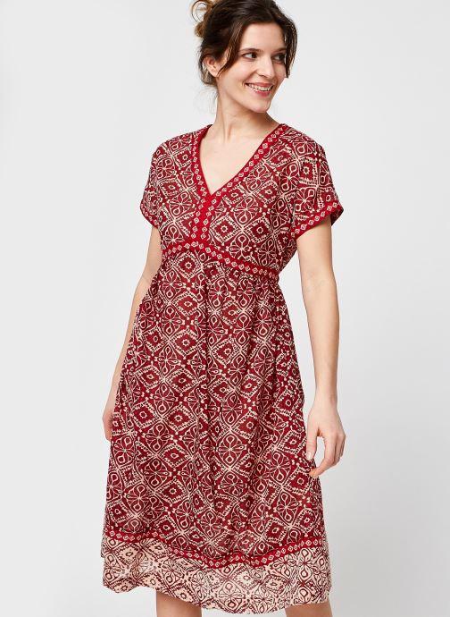 Vêtements Stella Forest ROBE COURTE SORAYA Rouge vue détail/paire