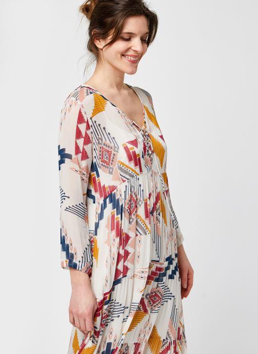 Vêtements Stella Forest ROBE LONGUE BELLE Multicolore vue détail/paire