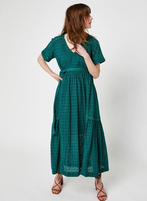 Abbigliamento Stella Forest ROBE MIDI BRUNA Verde vedi dettaglio/paio