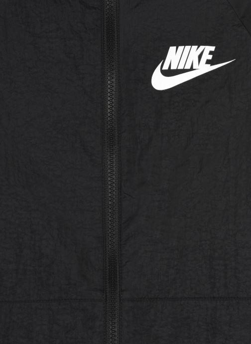 Vêtements Nike U Nsw Tracksuit Wvn Hbr Hd Noir vue face