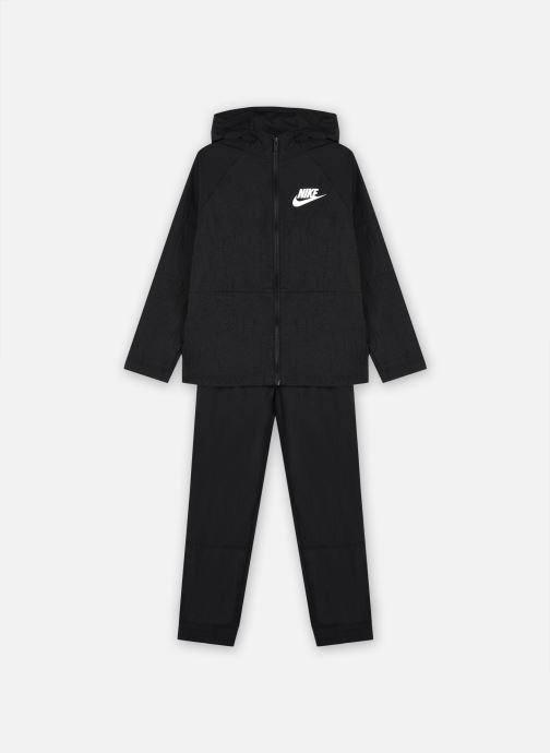 Kleding Nike U Nsw Tracksuit Wvn Hbr Hd Zwart detail