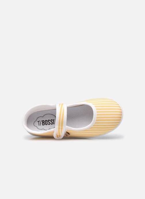 Pantofole Ti'Bossi Suze BR 9039 Giallo immagine sinistra