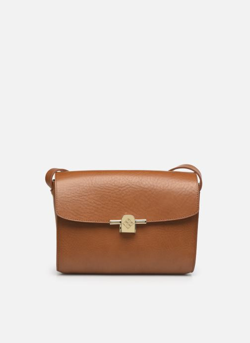 Handtaschen Herbert Frère Soeur Line Medium braun detaillierte ansicht/modell