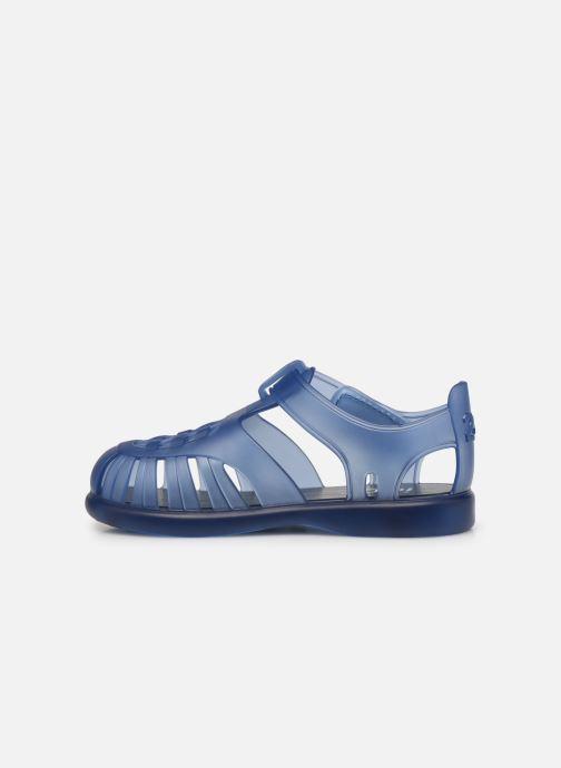 Sandalen Igor Tobby Velcro blau ansicht von vorne