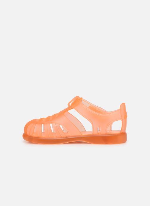 Sandalen Igor Tobby Velcro orange ansicht von vorne