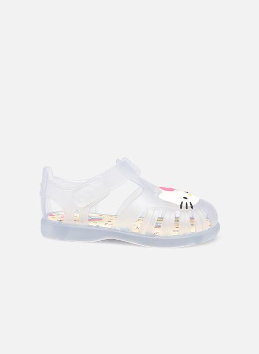 Sandales et nu-pieds Igor Tobby Velcro Kitty Blanc vue derrière