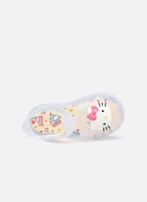 Sandales et nu-pieds Igor Tobby Velcro Kitty Blanc vue gauche