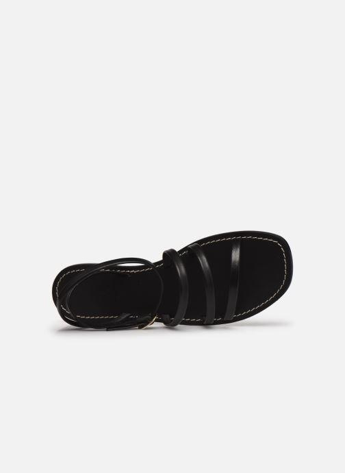 Sandalen Kickers KICKNICE Zwart links