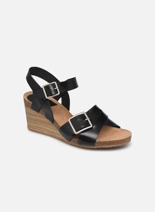Sandales et nu-pieds Kickers SPAINSTRAP Noir vue détail/paire
