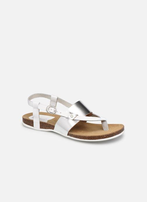 Sandalen Kickers ANAGRAMI weiß detaillierte ansicht/modell