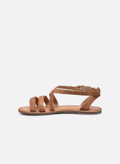 Sandali e scarpe aperte Kickers DIAPPO Marrone immagine frontale